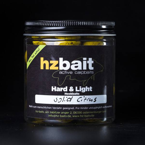 Hard & Light Hookbaits - Solid Citrus