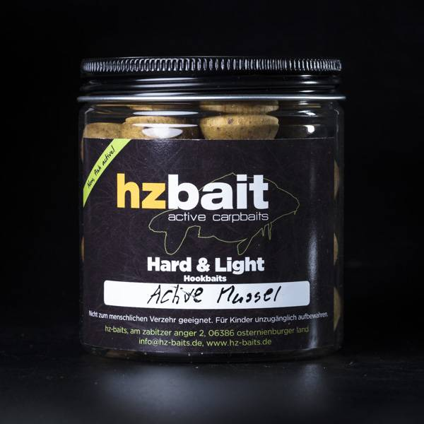 Hard & Light Hookbaits - Active Mussel